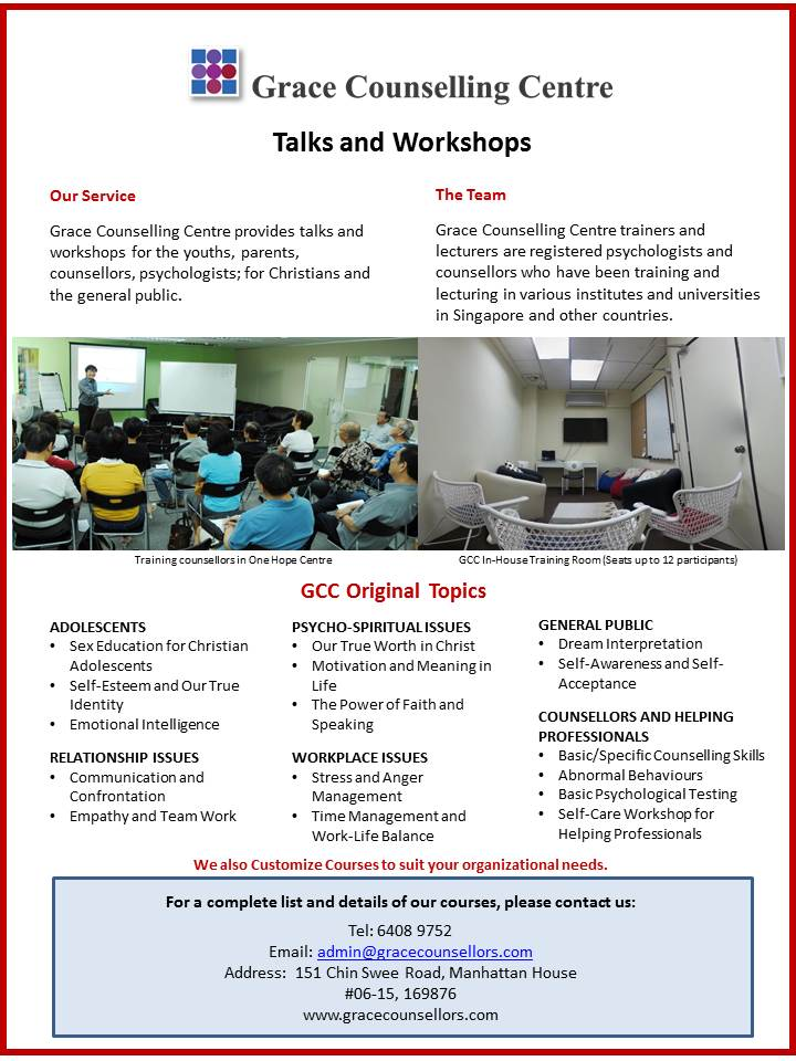 Workshops Pamphlet