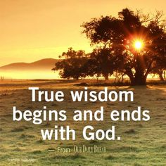 Wisdom is a Gift - Grace Counselling Centre